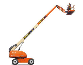 22m telescopic boom lift by Manlift