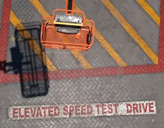 Elevated Drive Speed for aerial work platforms-Manlift Group
