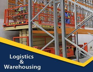 Logistics and Warehousing Manlift