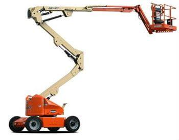 Manlift-JLG E450AJ Articulating Boom Lift409