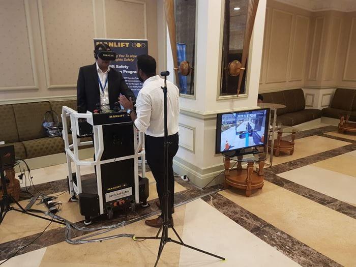 Virtual Reality Training at Manlift