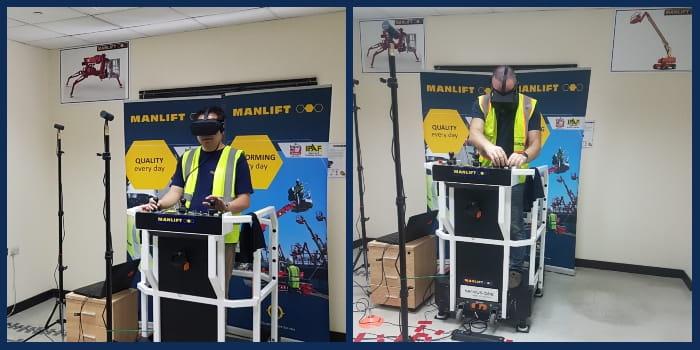 Aerial Virtual Reality Training