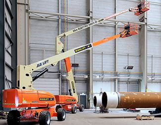 eco friendly machines-all electric aerial work platforms