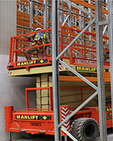 Logistics and warehousing Manlift