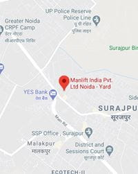 Manlift India Noida Yard