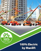 Manlift all electric solutions