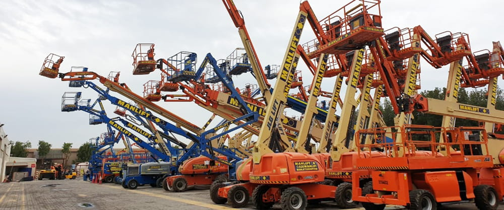 Reliable aerial work platforms for sale by Manlift