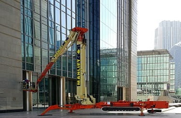 Cleaning At Height Need A Lifting Machine Manlift