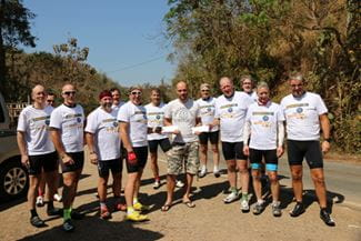 Manlift Team Cycled 11 days 925 km doing the Mae Hong Son loop