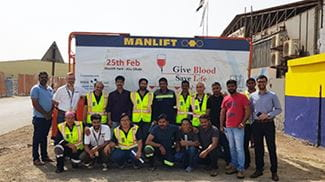 Blood Donation Campaign 2019 Manlift Abu Dhabi