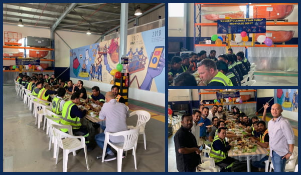 Manlift Middle East is celebrating the showcase depot achievement