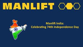 Manlift India Celebrates Independence Day 2020