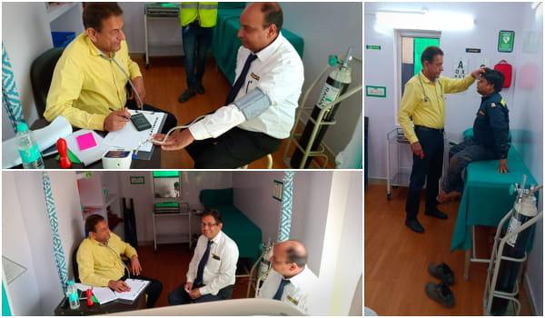 Manlift India Medical Camp