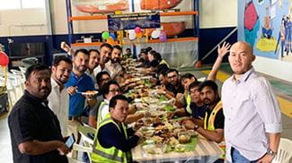 Manlift Middle East is celebrating the showcase depot