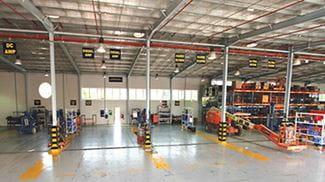 Manlift Yard Dubai UAE
