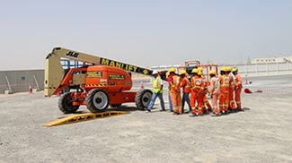 World Health and Safety Day Expo 2020 Manlift