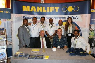 Manlift at IPAF Middle East Convention 2017