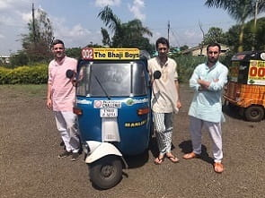 manlift rickshaw challenge