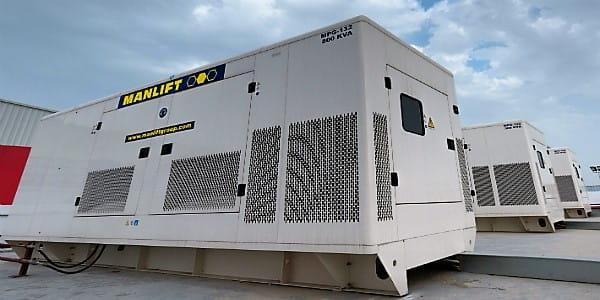 Power generator MPG G-500kva