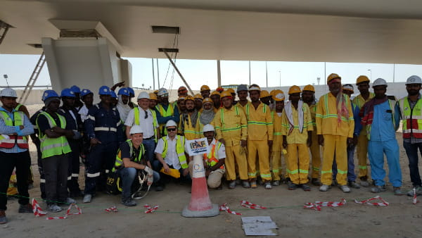 Manlift Participated in a Combined IPAF on-site Workshop