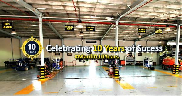 Manlift 10 Years anniversary